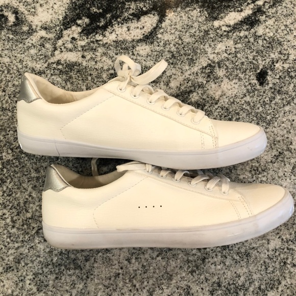 Old Navy Shoes | Womens White Sneakers